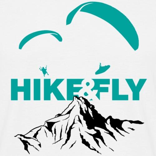 Hike & Fly - Männer T-Shirt