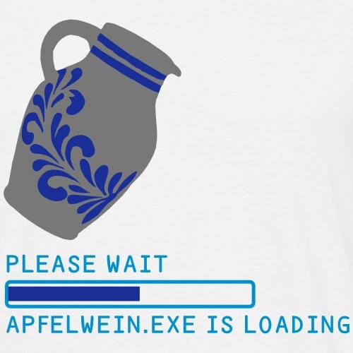 Apfelwein.exe is loading... - Männer T-Shirt