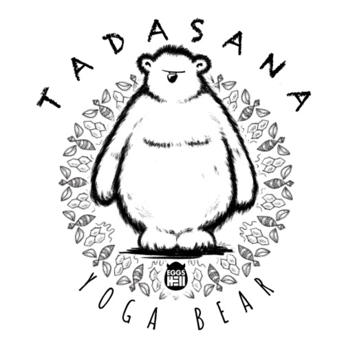 Tadasana by Yoga Bear - Men's T-Shirt