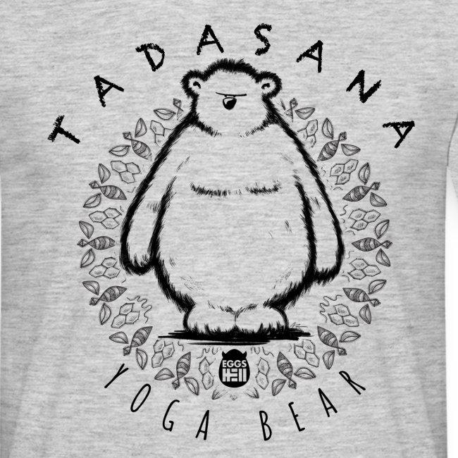 Tadasana by Yoga Bear