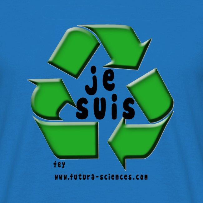 env recyclage texte noir