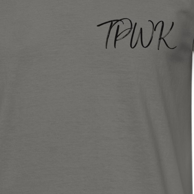 TPWK fancy handwriting black