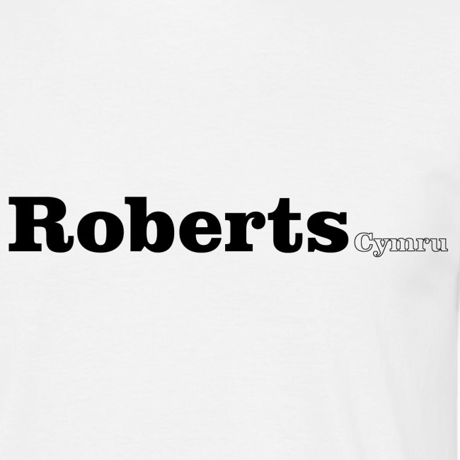 roberts cymru black