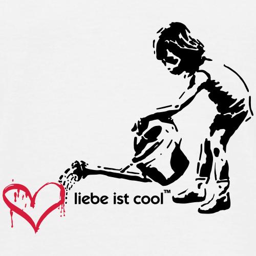 liebe ist cool - Männer T-Shirt