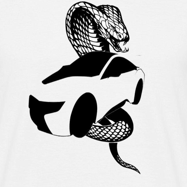 carro con serpiente