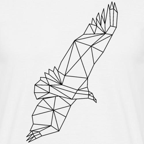 Geier Vogel fliegen - Männer T-Shirt