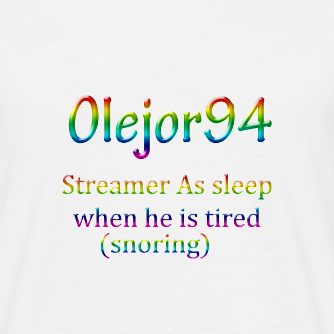 Olejor94 sover snorken English