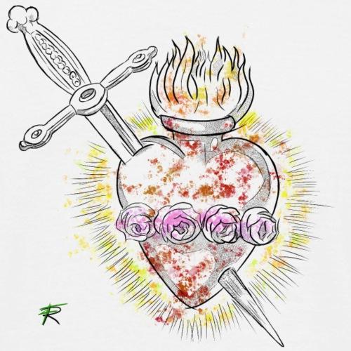 Cuore di Maria - Maglietta da uomo