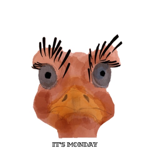 Srauss, again Monday, English writing - Men's T-Shirt