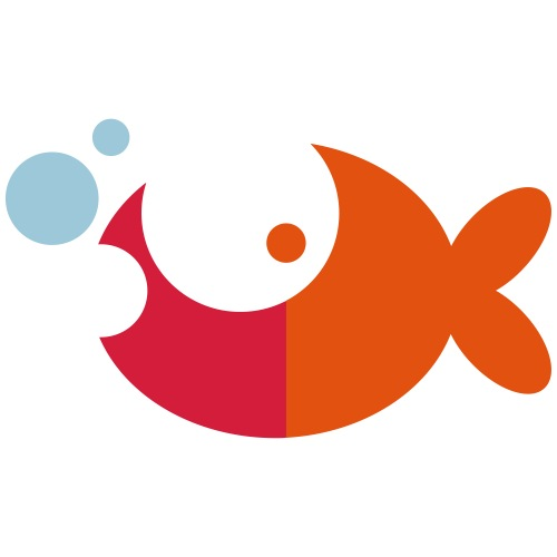 Blush Goldfish Vector - choose design colours