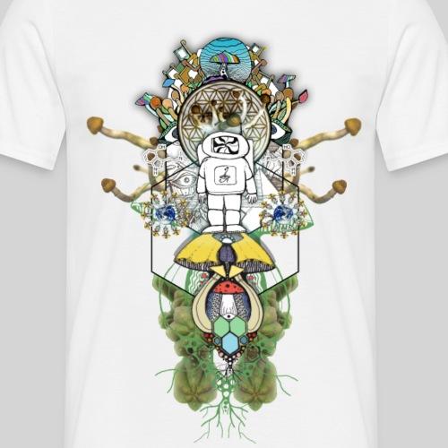 Psychonaut im Hyperraum - Männer T-Shirt