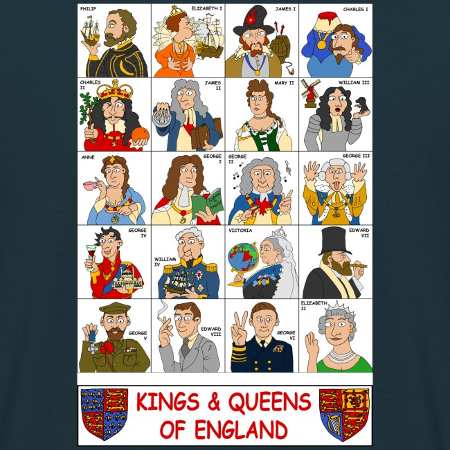 Kings & Queens of England (Double Sided)