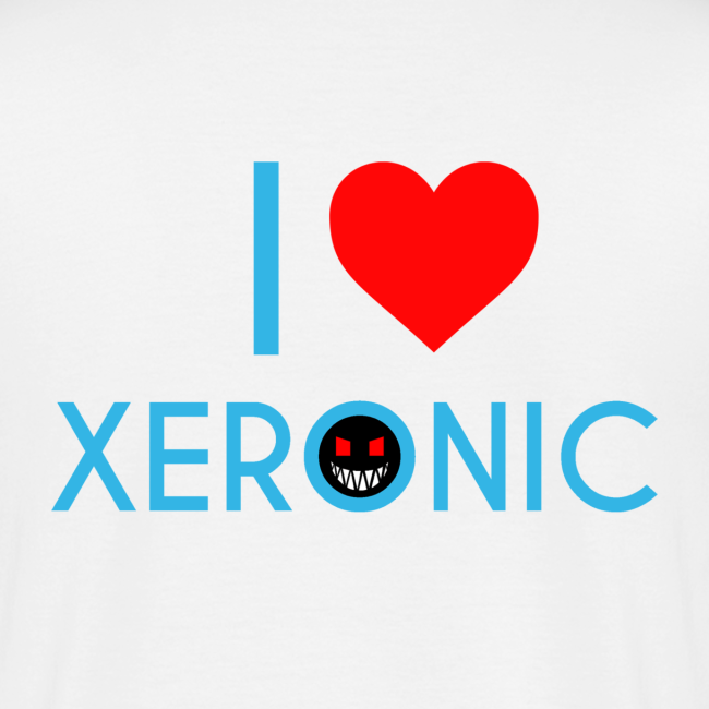 I Love Xeronic   for men