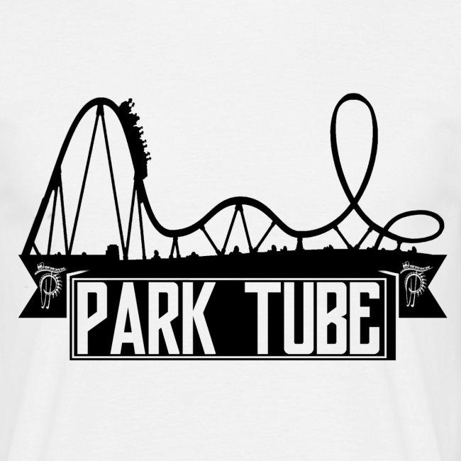 ParkTube Banner mit Achterbahn schwarz