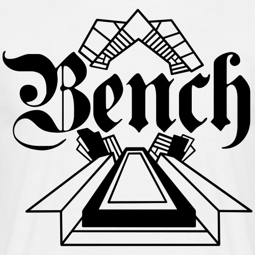 BENCH - T-shirt herr