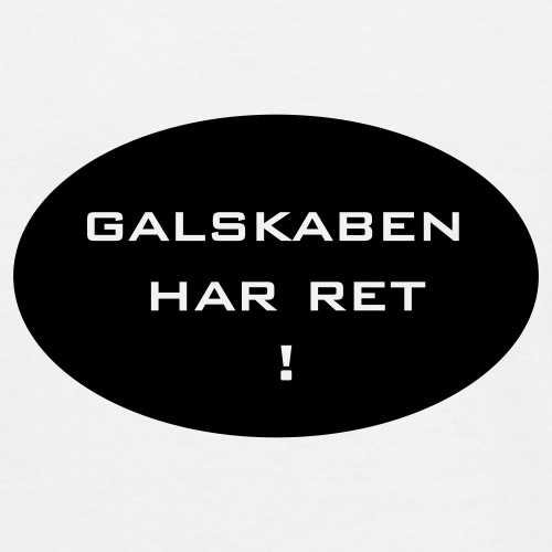galskabenharretcdr11 - Herre-T-shirt