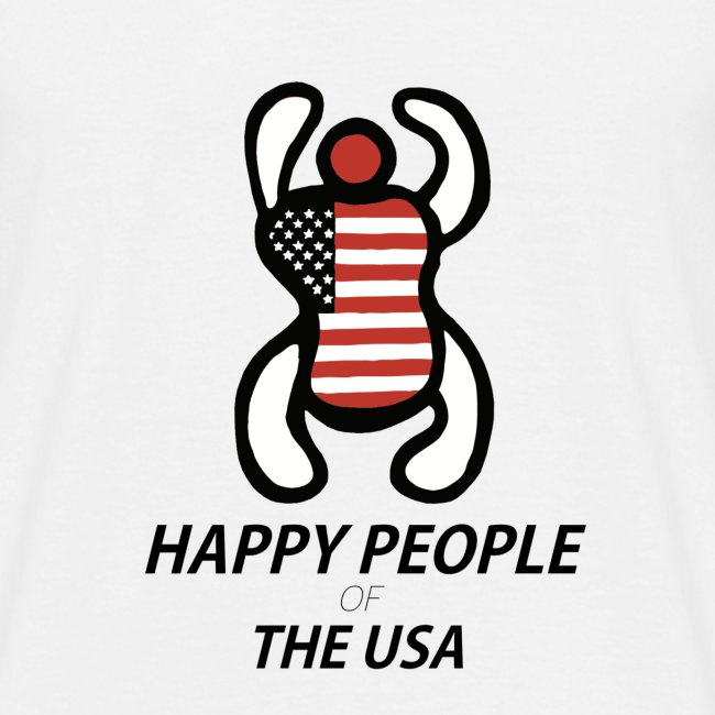 Happy People of the USA