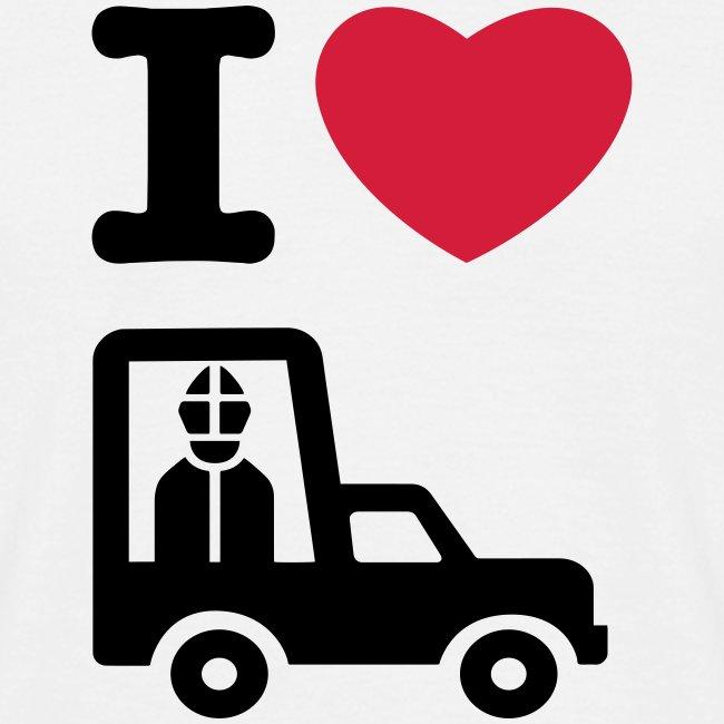 Papst im Auto