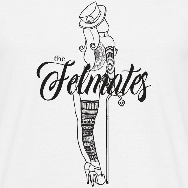 the felmates tattooed - black