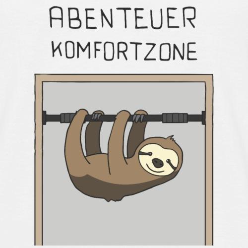 Abenteuer Komfortzone - Männer T-Shirt