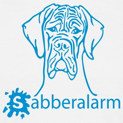 Sabberalarm - Hund - bis 2 Farben - Männer T-Shirt