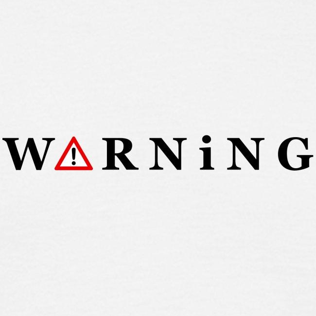 Front Warning White