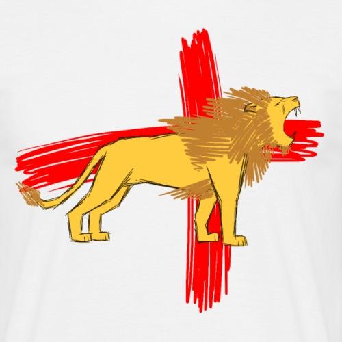 English Lion - Men's T-Shirt