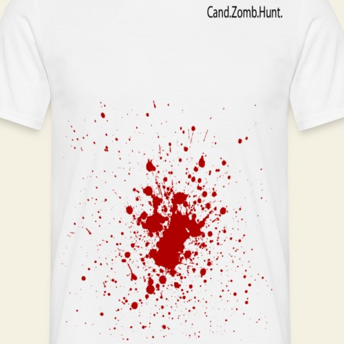 Bloody Zombie Hunter - Cand.Zomb.Hunt. - Herre-T-shirt