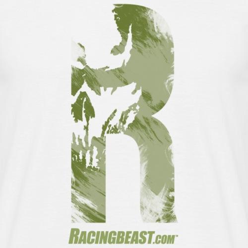 racingbeast_R_vintage-oli - Männer T-Shirt