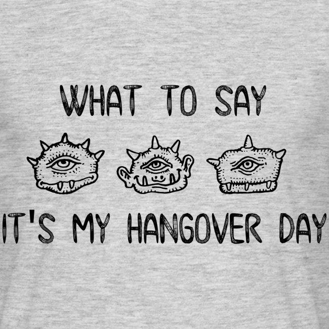hangover day