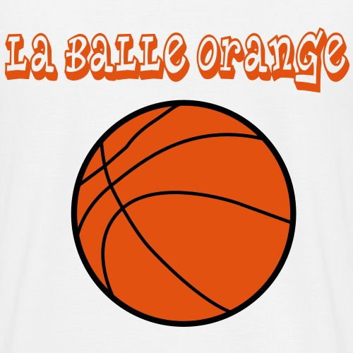 La balle orange - T-shirt Homme