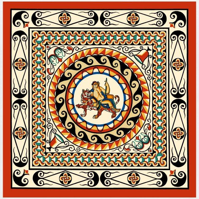 Leadenhall Hall Street Roman Mosaic London