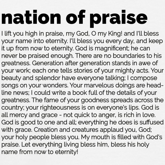 nation of praise // 021 // Equippers ENG