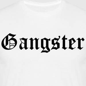 gangster - T-skjorte for menn