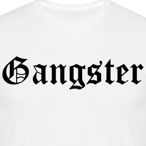 gangster - T-shirt herr