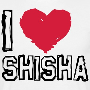 I LOVE SHISHA! - Men's T-Shirt