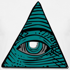 All-seeing eye - Men's T-Shirt