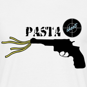Logo_pastashoot - Men's T-Shirt