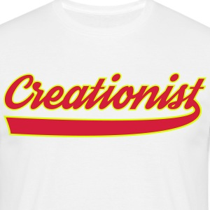 creationist - Men's T-Shirt