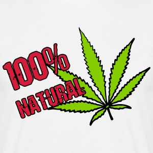 weed - 100% natural hemp - Men's T-Shirt