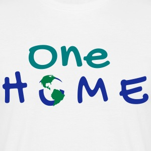 One Home | A World Design - T-shirt Homme