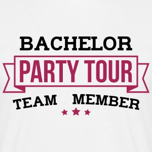 Bachelor Party Tour - Maglietta da uomo