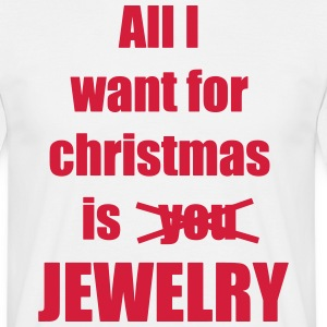 Christmas song saying Jewelry - Men's T-Shirt