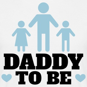 daddy to be - Männer T-Shirt