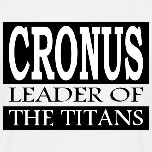 Cronus - Leader Of The Titans - T-skjorte for menn