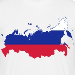 Russische beer COLLECTION - Mannen T-shirt