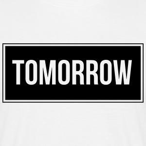 Tomorrow_Black - T-shirt Homme