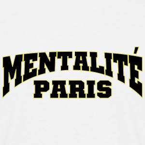 PARIS MENTALITET - T-shirt herr