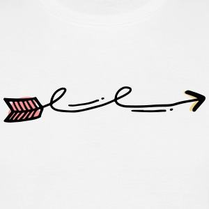 arrow - Men's T-Shirt