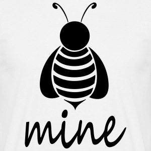 Bee_mine - Mannen T-shirt